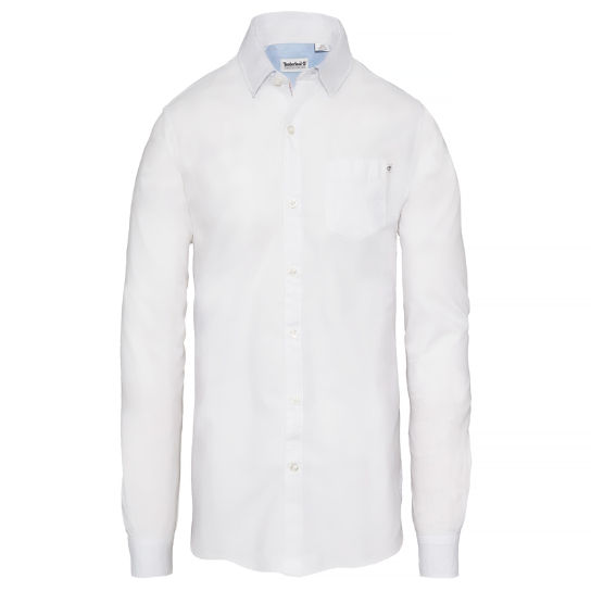 Men's Wellfleet Oxford Shirt White | Timberland