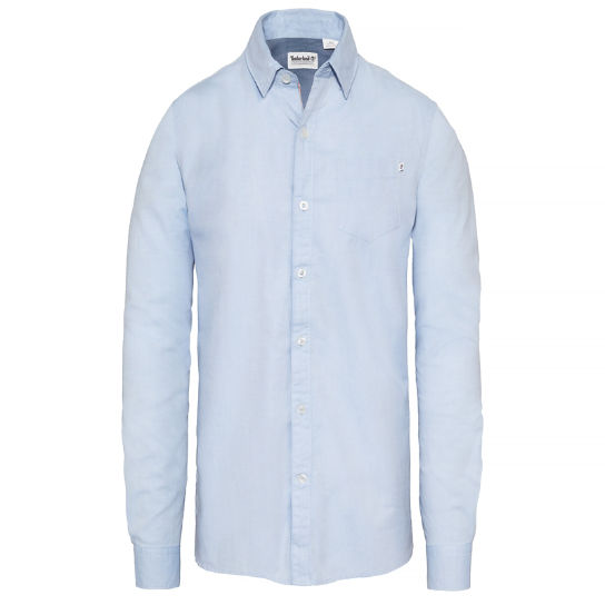Wellfleet Oxford Shirt Heren Blauw | Timberland