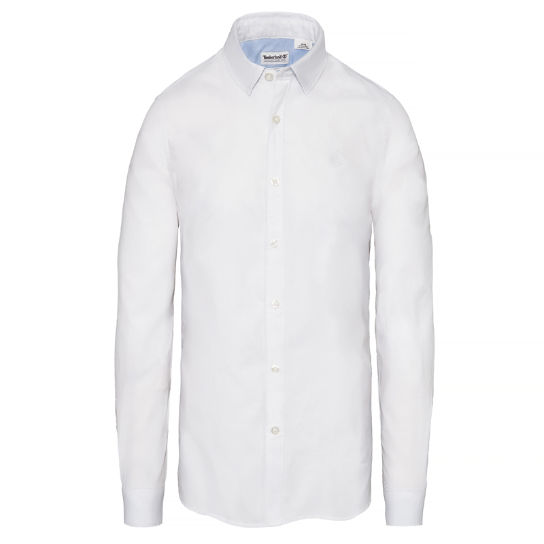 Milford Oxford Shirt Homme Blanc | Timberland