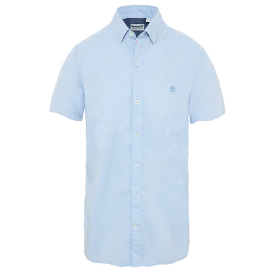 Men's Wellfleet Oxford Shirt Blue | Timberland