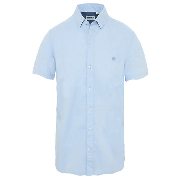 Herren Wellfleet Oxford Shirt Blau-