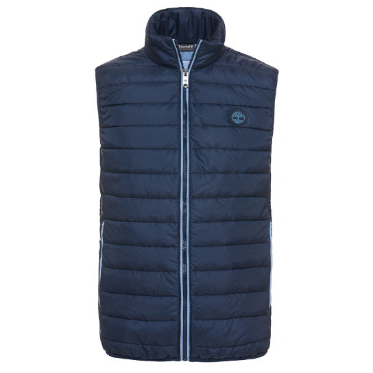 Men's Milford Quilted Vest Dark Grey | Timberland