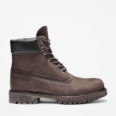 6-Inch+Boot+Icon+Premium+pour+homme+en+marron