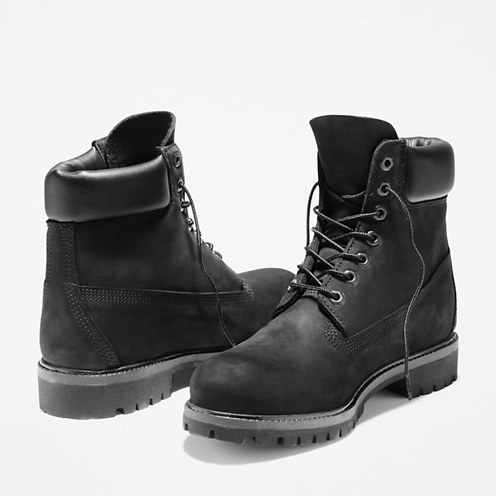 Chinese New Year Edition 6 Inch Boots voor Heren in zwart-