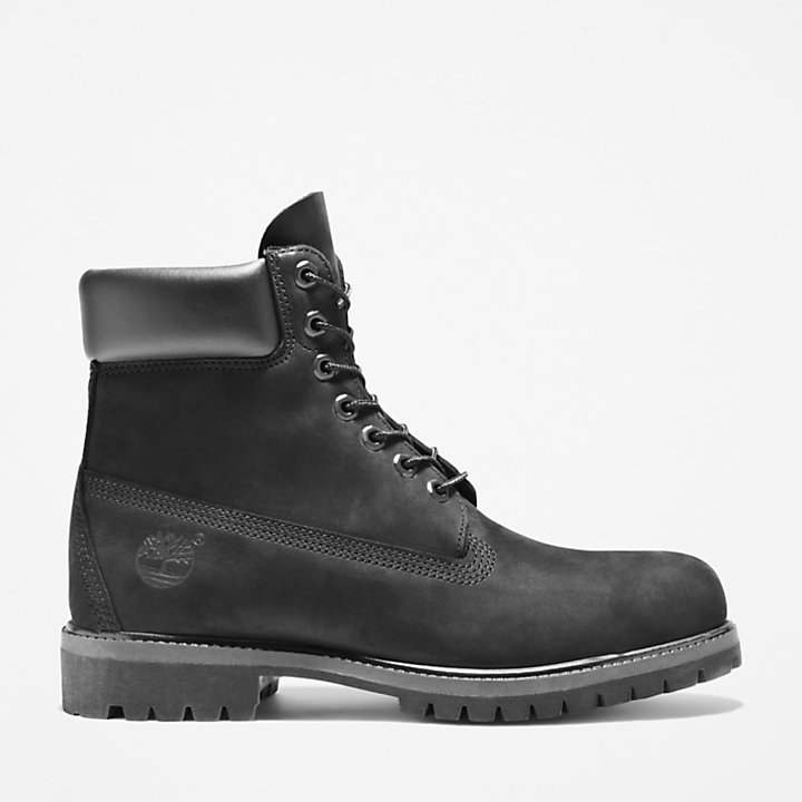 Premium 6 Inch Boot for Men in Black-