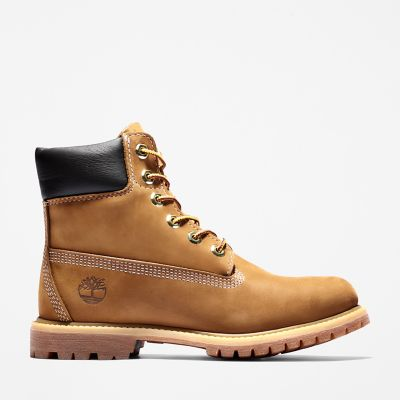 Premium+6+Inch+Boot+for+Women+in+Brown