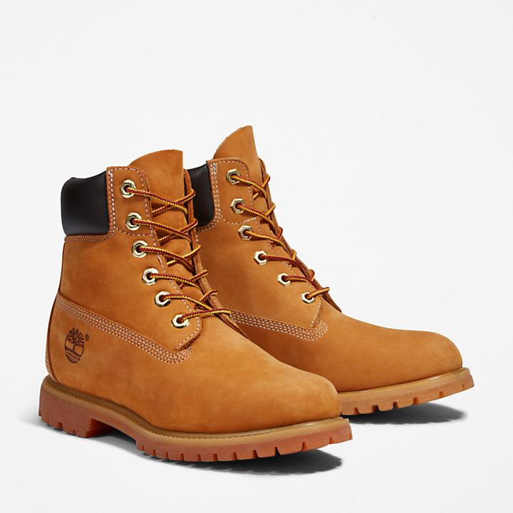 6 Inch Premium Boot for Women in Yellow-