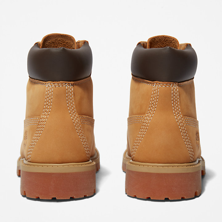 6 Inch Premium Boot for Youth in Yellow-