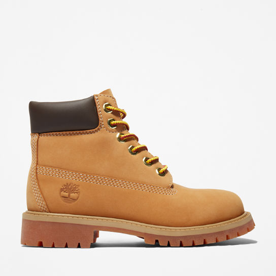 6 Inch Premium Boot for Youth in Yellow | Timberland