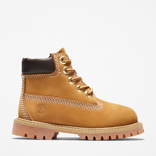 Premium 6 Inch Boot for Toddlers in Yellow | Timberland