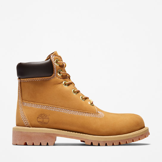 Premium 6 Inch Boot for Juniors in Yellow | Timberland