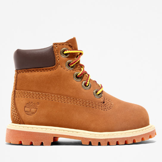 Premium 6 Inch Boot for Toddler in Brown | Timberland