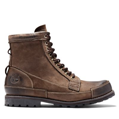 Scarponcino+6+Inch+da+Uomo+Timberland%C2%AE+Originals+in+marrone+scuro
