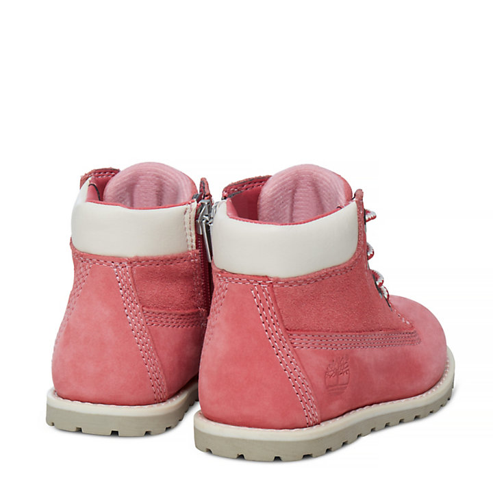 Pokey Pine 6 Inch Boot for Toddler in Pink-