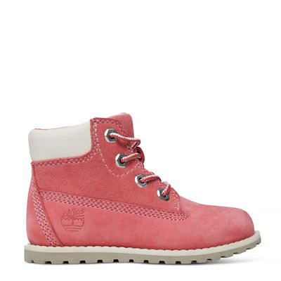 Pokey Pine 6 Inch Boot For Toddler In Pink Timberland