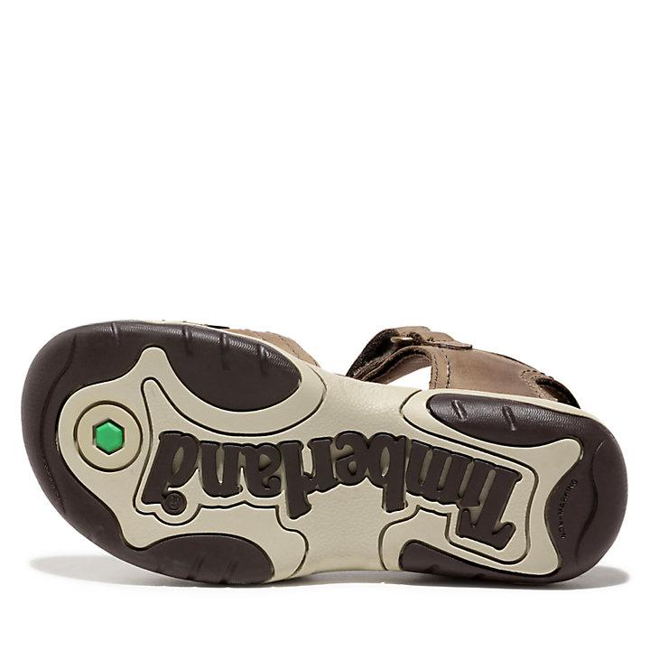Sandalia de Tiras de Cuero Oak Bluffs para Niño (de 30,5 a 35) en beis-