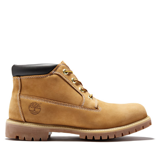 Icon Chukka for Men in Yellow/Chocolate | Timberland