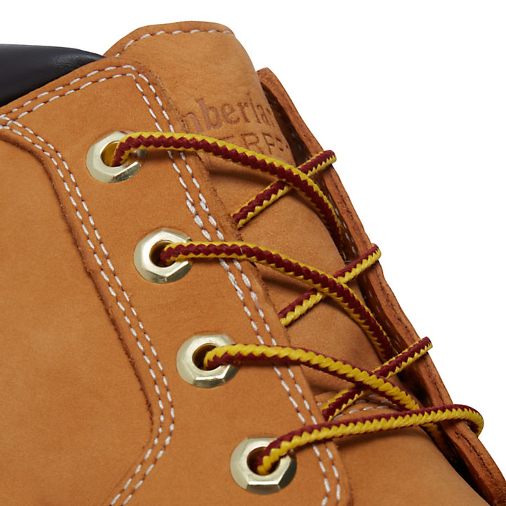 Icon Chukka for Men in Yellow/Chocolate-