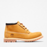 Wheat Nubuck With Black Collar