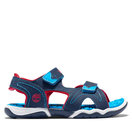Youth Adventure Seeker Sandal Navy/Blue/Red | Timberland
