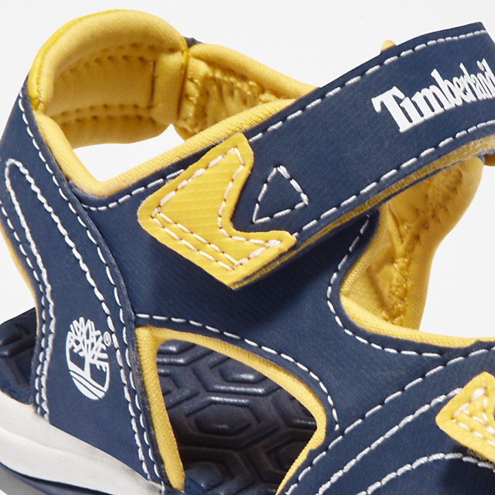 Adventure Seeker Sandal for Junior in Navy/Yellow-