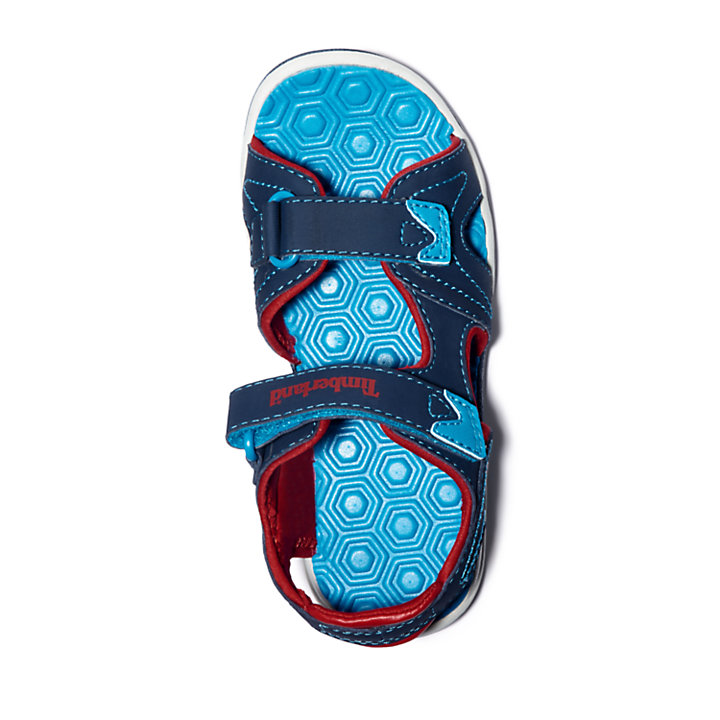 Sandale Adventure Seeker junior en bleu marine/rouge-