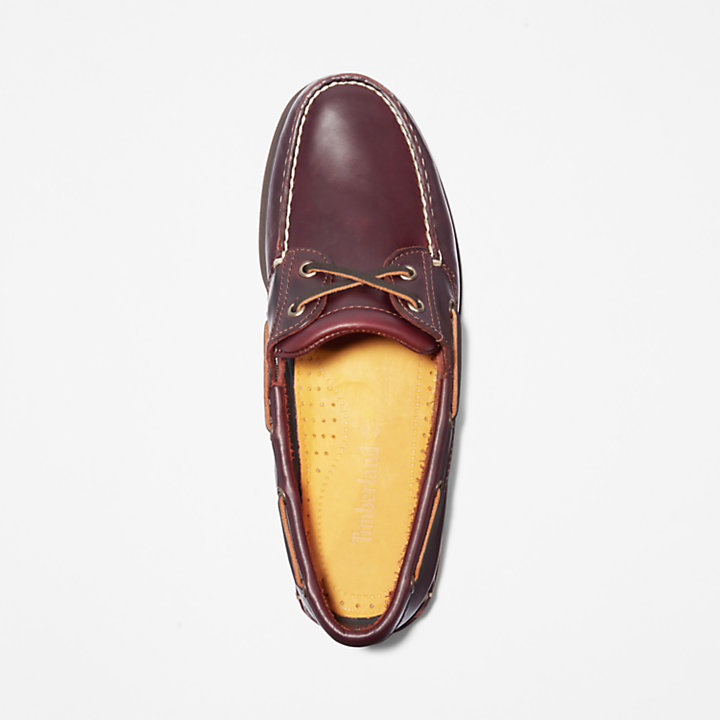 Classic Boat Shoe for Men in Brown-