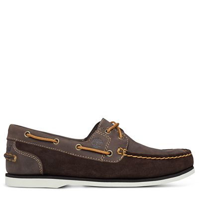 Classic+Boat+Shoe+for+Women+in+Brown