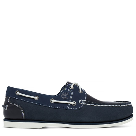 Classic Boat Shoe for Women in Navy | Timberland