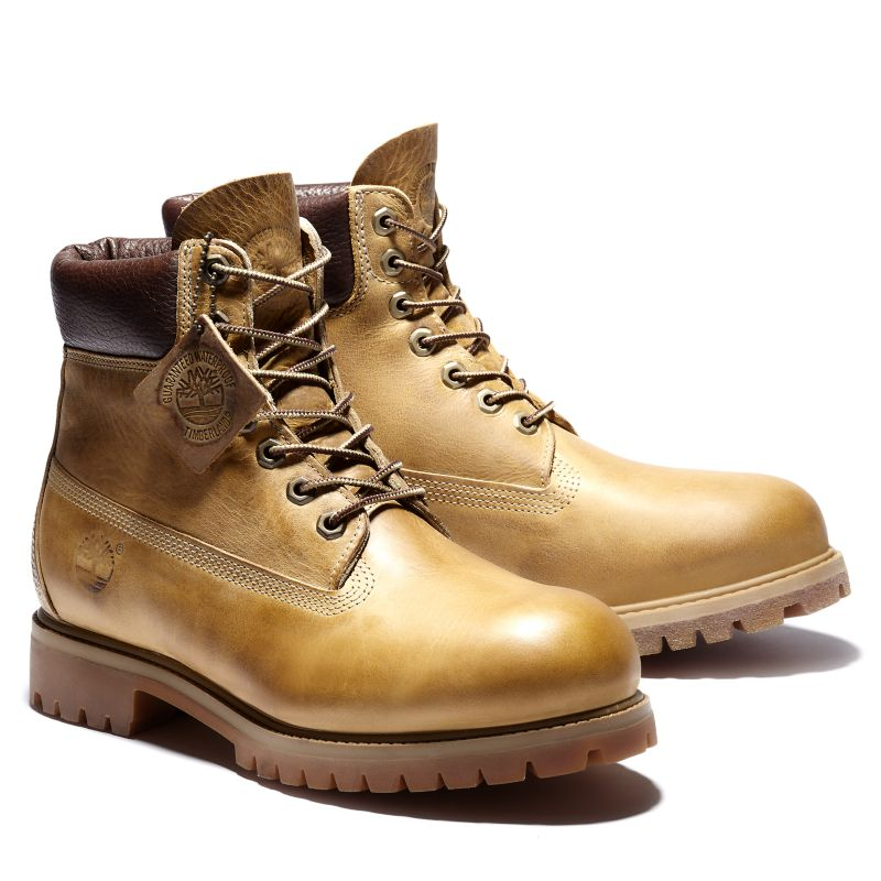 Timberland Men's Heritage Classic 6 Inch Boot Yellow at £133
