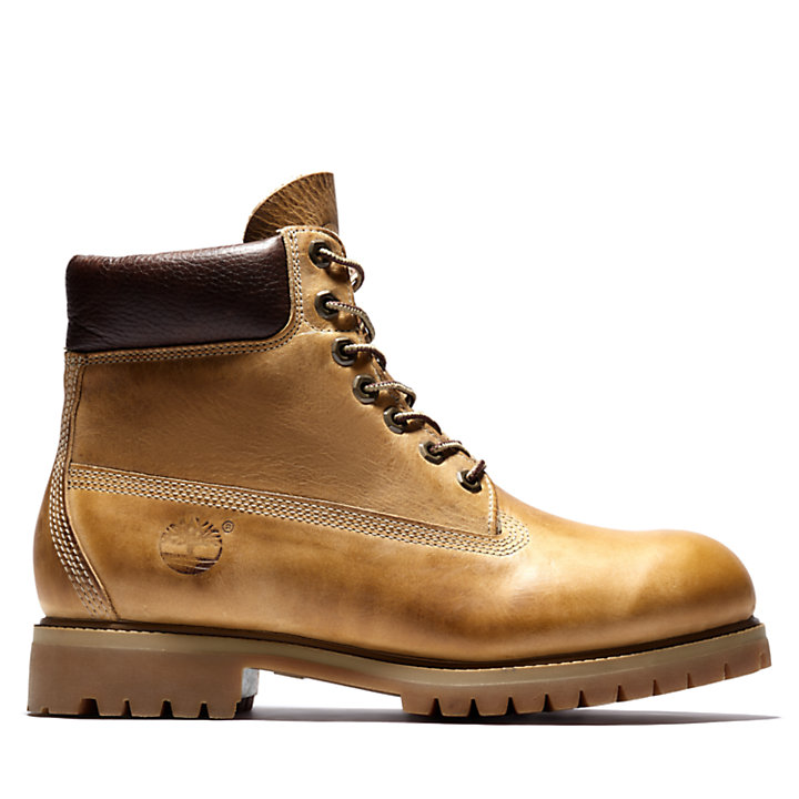 Heritage Classic 6 Inch Boot for Men in Yellow-