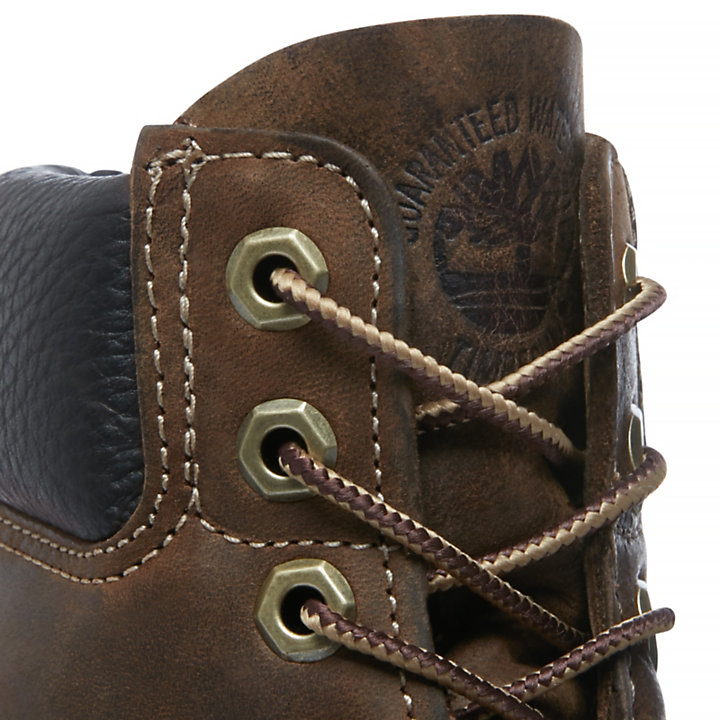 Heritage Classic 6 Inch Boot for Men in Dark Brown-