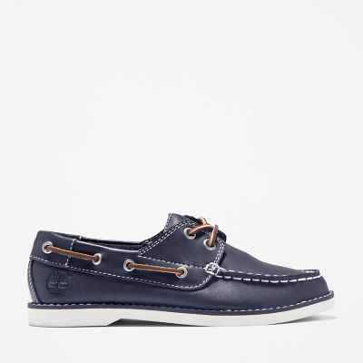 Seabury+Boat+Shoe+for+Youth+in+Navy