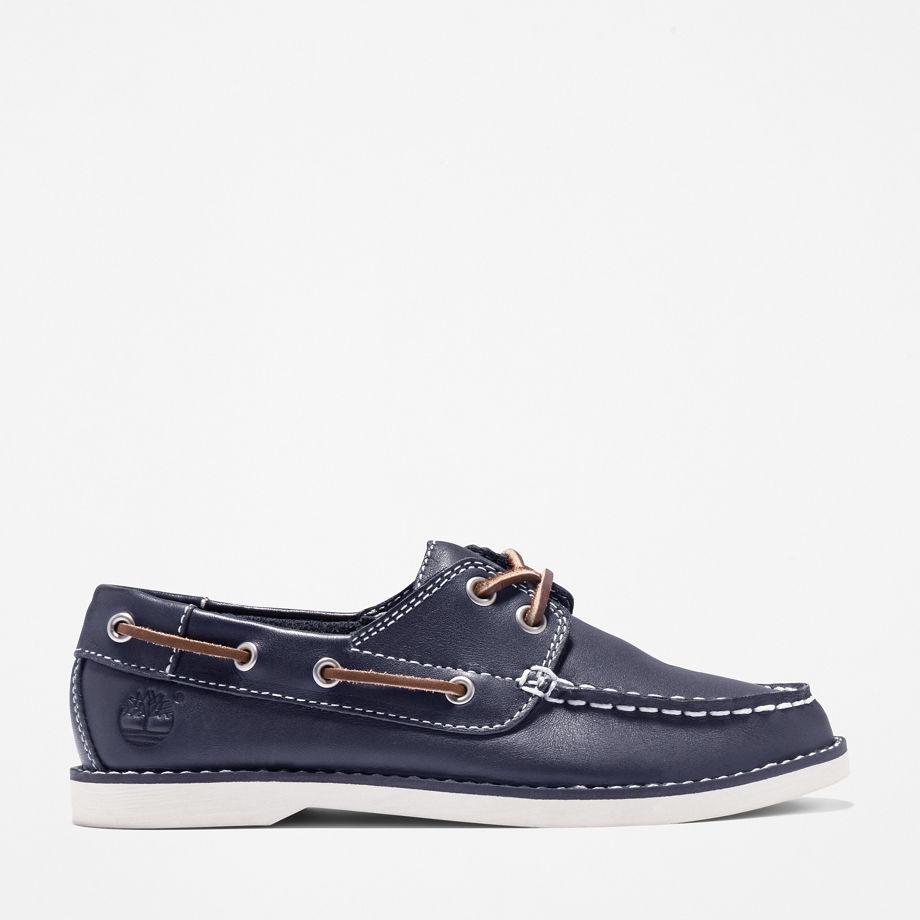 Timberland Chaussure Bateau Seabury Pour Enfant En Bleu Marine Bleu Marine, Taille 32