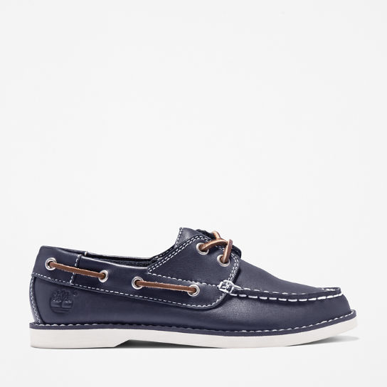 Seabury Boat Shoe for Youth in Navy | Timberland