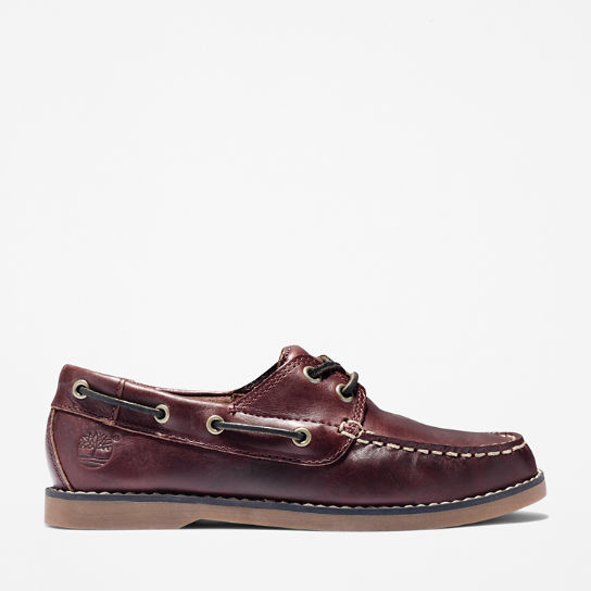 Seabury Boat Shoe for Youth in Brown | Timberland