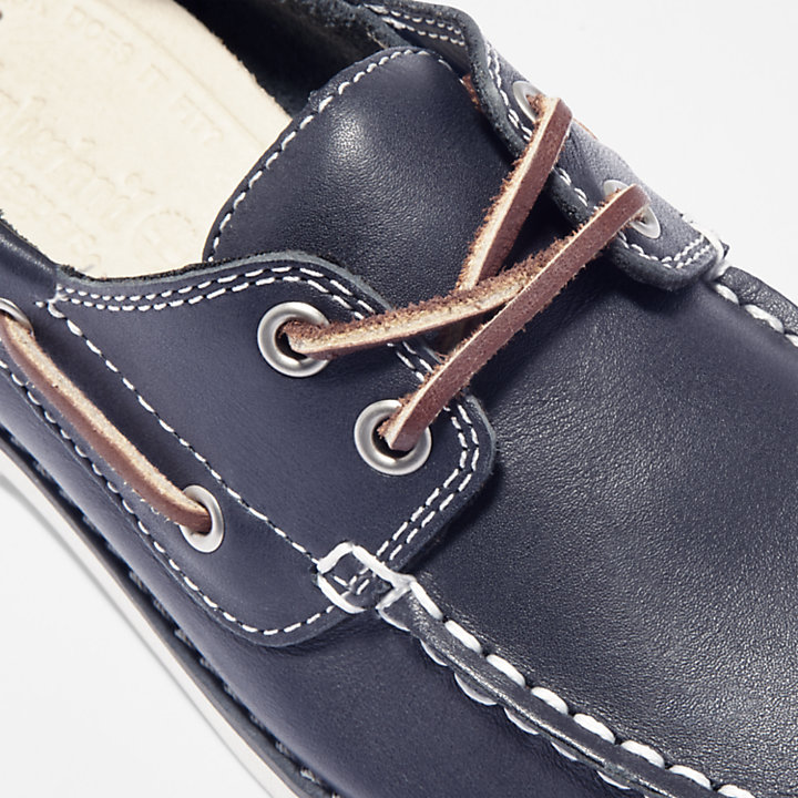 Seabury Boat Shoe for Toddler in Blue-