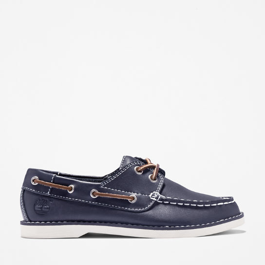 Seabury Boat Shoe for Toddler in Blue | Timberland