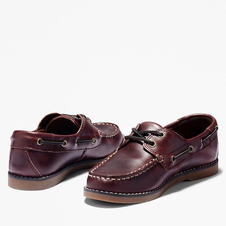 Chaussure bateau Seabury pour tout-petit en marron foncé-