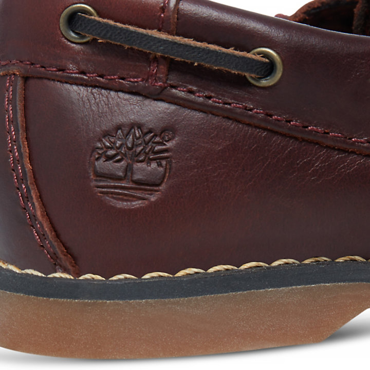 Seabury Boat Shoe for Toddler in Brown-
