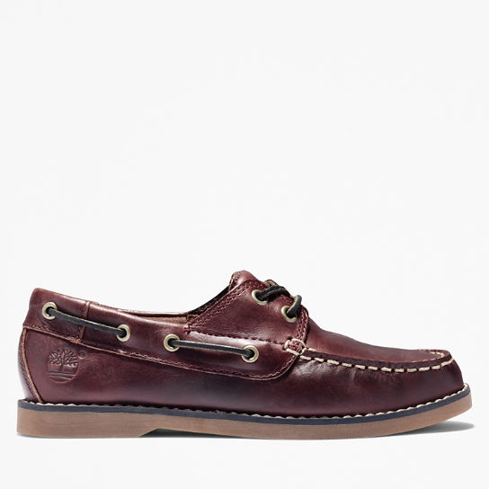 Seabury Boat Shoe for Toddler in Brown | Timberland