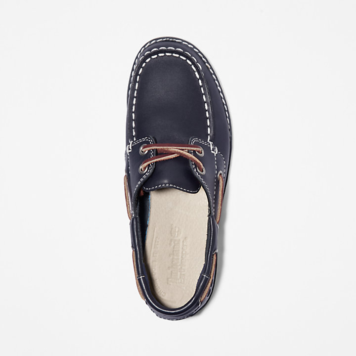Seabury Boat Shoe for Junior in Navy-