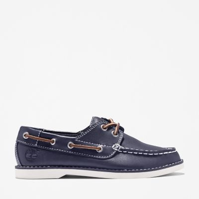 Seabury+2-Eye+Bootschoenen+Junior+in+blauw