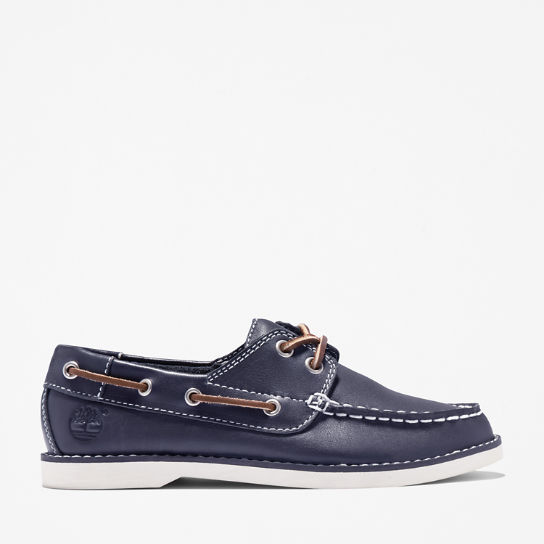 Seabury Boat Shoe for Junior in Navy | Timberland