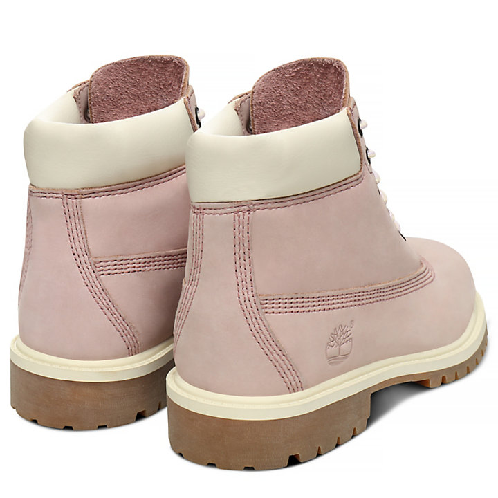 Premium 6 Inch Boot for Youth in Pink-