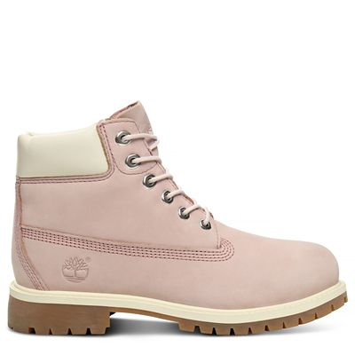 Premium+6+Inch+Boot+voor+Kids+in+Mauve