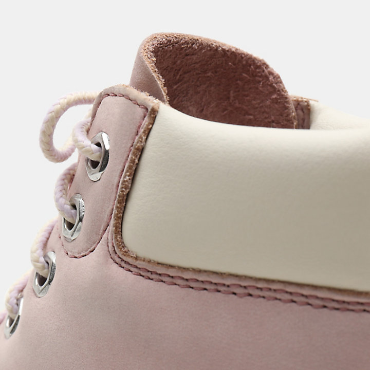 Premium 6 Inch Boot for Toddler in Pink-