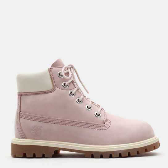 Premium 6 Inch Boot for Toddler in Pink | Timberland