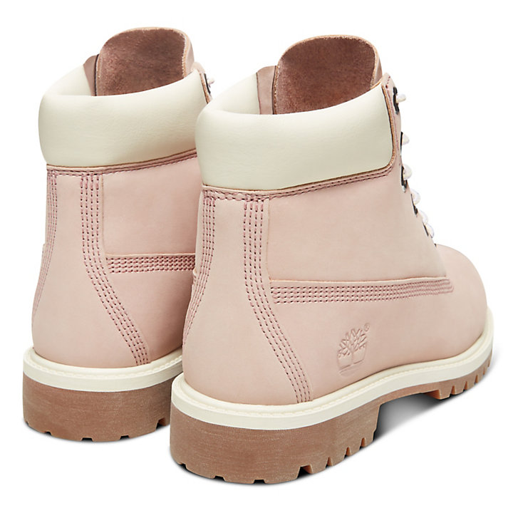 Premium 6 Inch Boot for Junior in Pink-