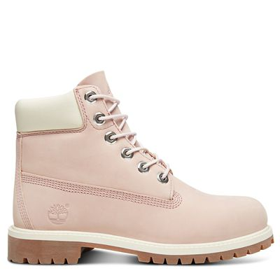 Premium+6+Inch+Boot+for+Junior+in+Pink